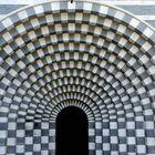 Mogno TI: Bergkirche von Mario Botta 4