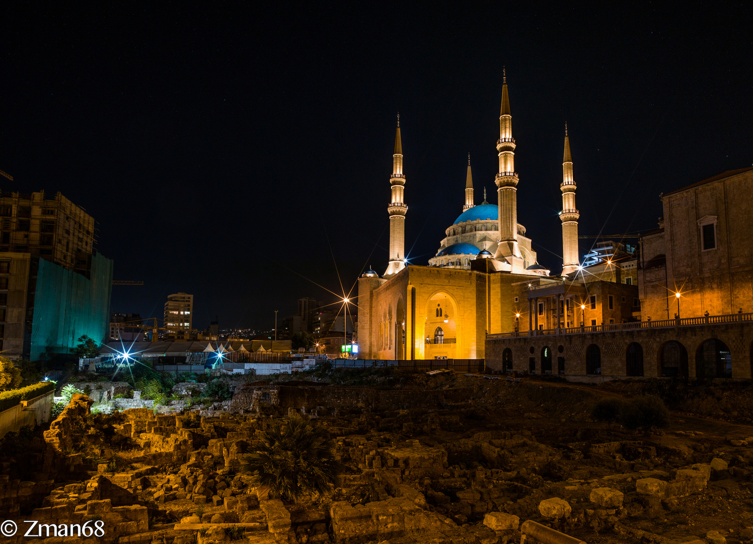 Mohamed Alamine Mosque in Beirut