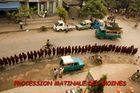 moines à Mandalay