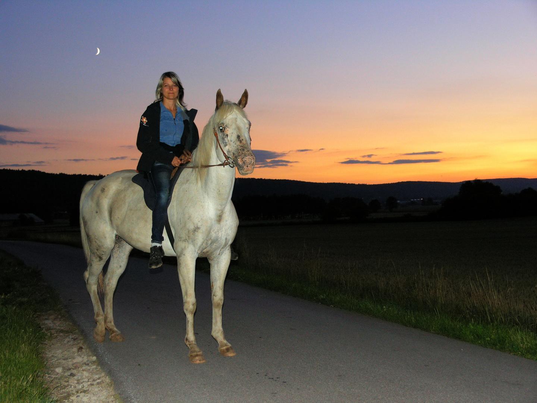 Moje pritelkyne na koni