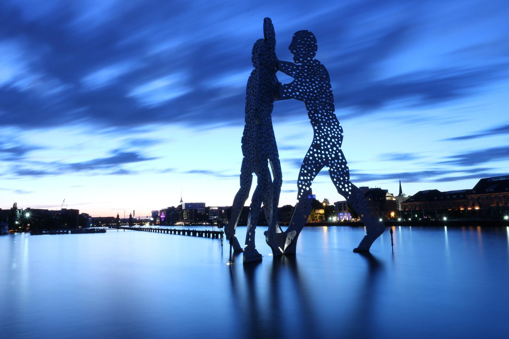 Molecule Man in Berlin Treptow