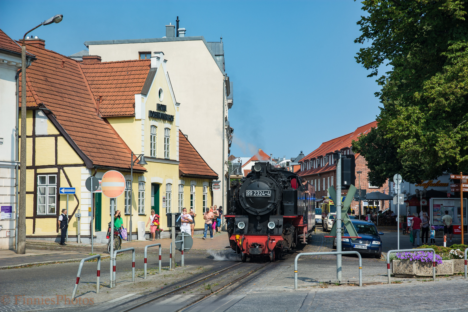 Molli Bahn bei Bad Doberan