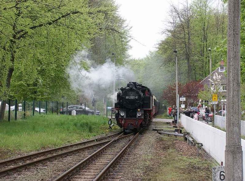 Molli in Heiligendamm