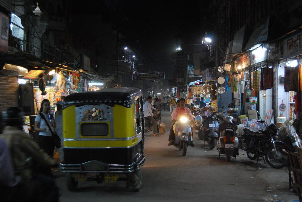 Momentaufnahme am frühen Abend vom 12.03.2009