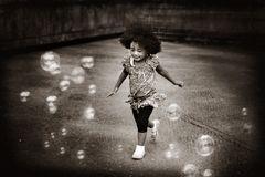 .momo und die seifenblasen.