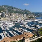 Monaco Harbor during Yacht Show 2012