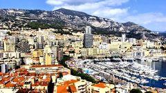 Monaco vu d'en haut