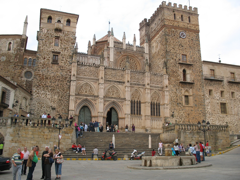 Monasterium Guadelupe in Spanien