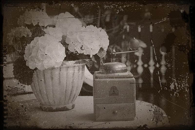 Monats-Thema / Nostalgie....Omas Kaffeemühle