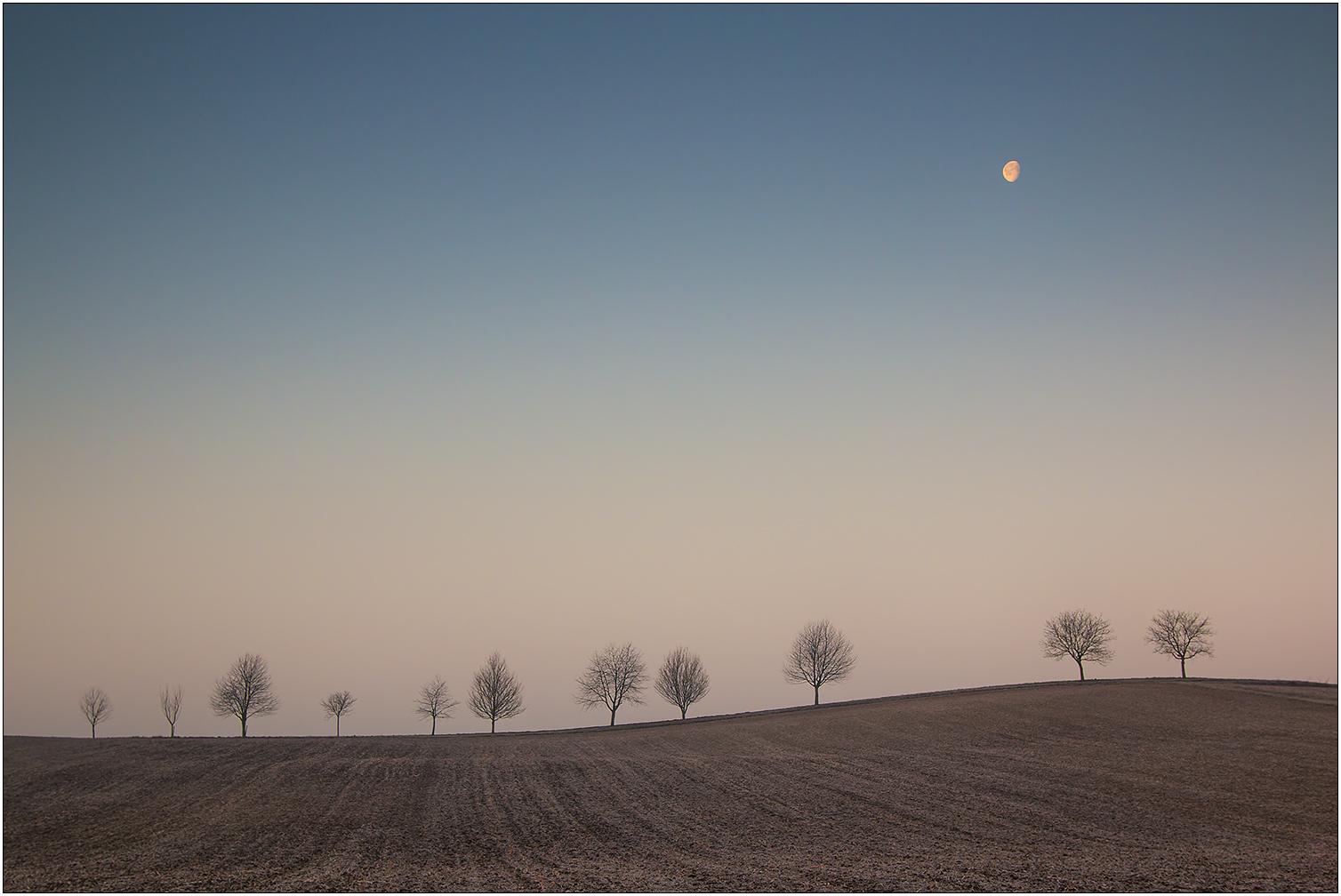Mond, abnehmend