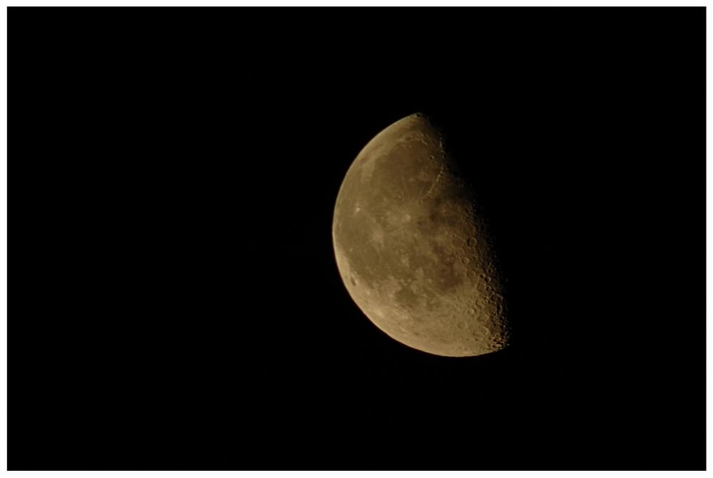 Mond am 05.08.2007