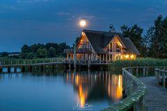 Mond am Hemmelsdorfer See
