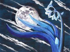 Mond - Blume