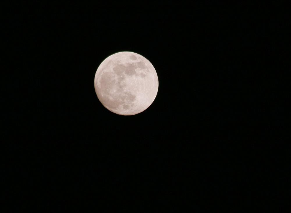Mond Februar 2009