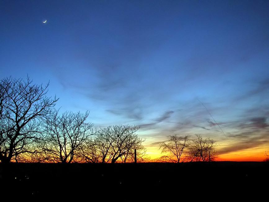 Mond folgt Sonne