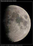 Mond im 80mm Refraktor