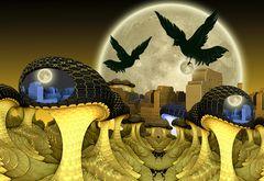 Mond-Raub