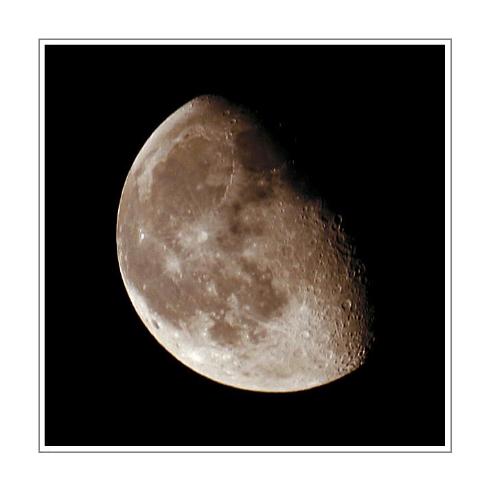 Mond - Schatten