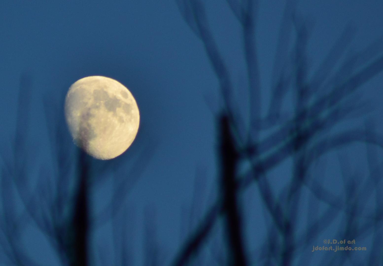 Mond Schnappschuss