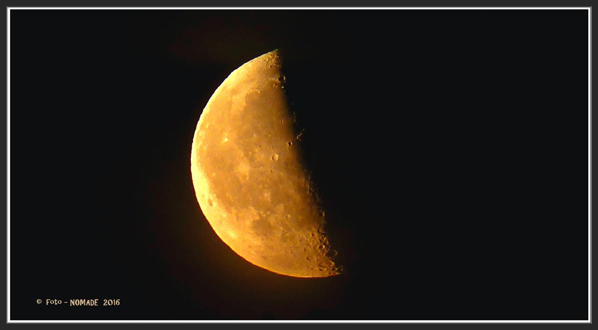 Mond- Sichtbarkeit 47 %