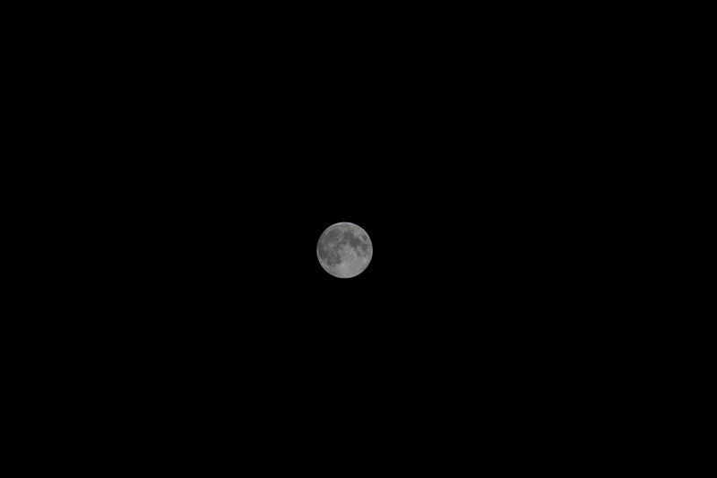 Mond über Freiburg