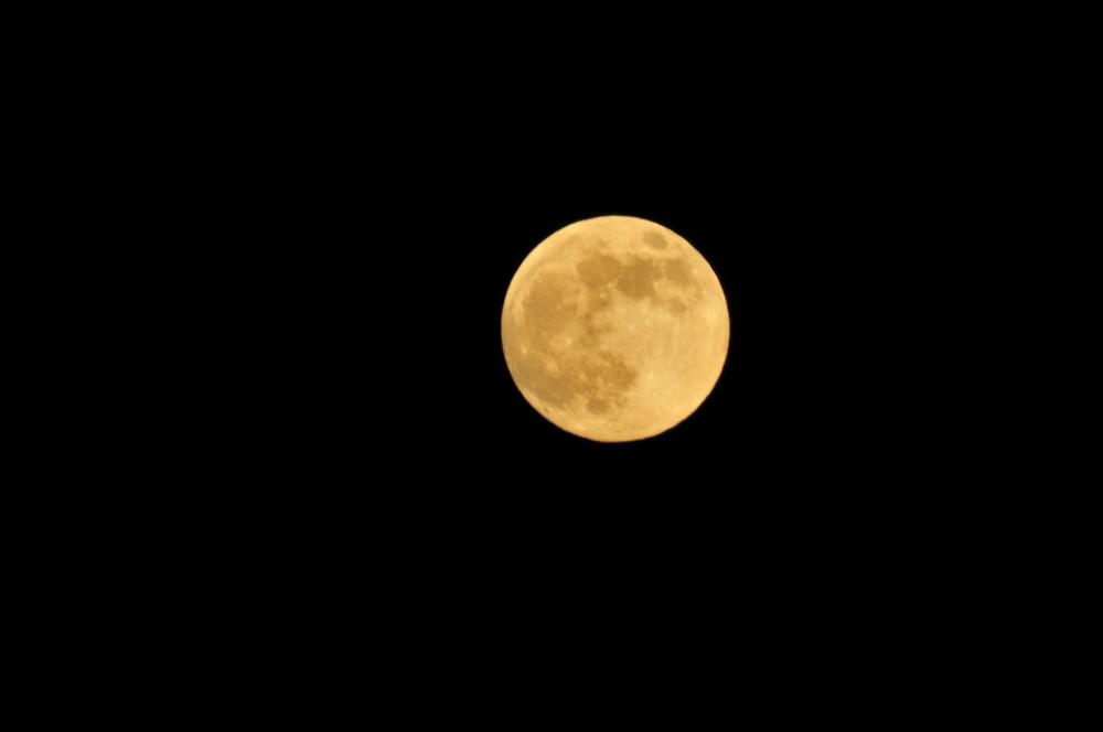 Mond über meiner Heimat