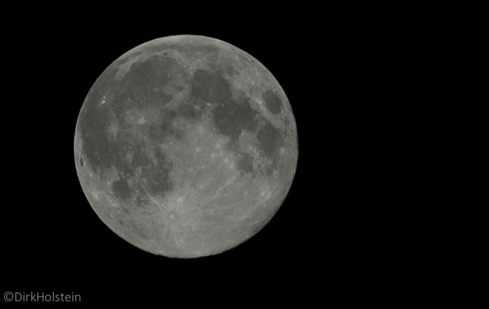 Mond überm Auetal