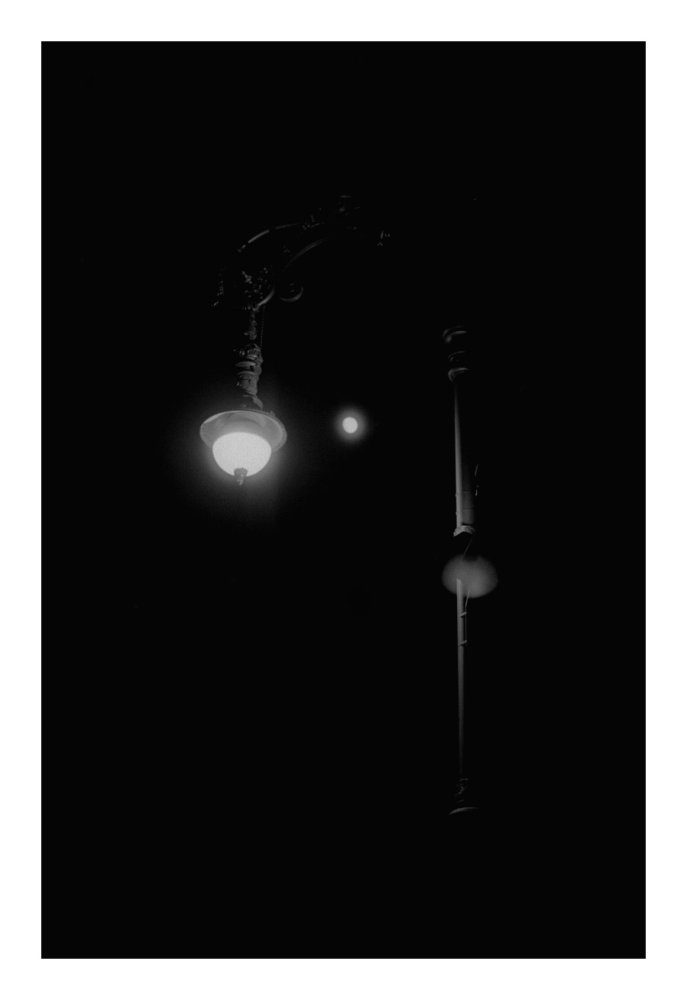 Mond und Laterne - keine Sonne, keine Sterne