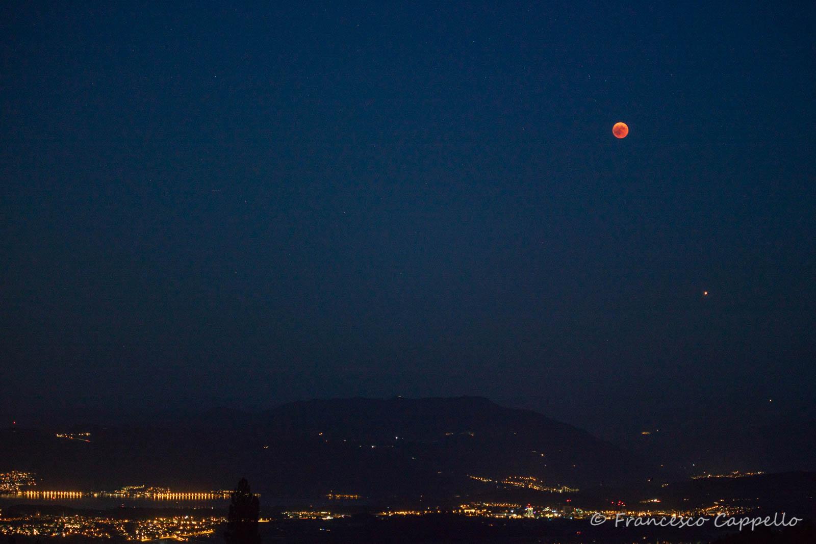Mond Und Mars Foto Bild Landschaft Astrofotografie
