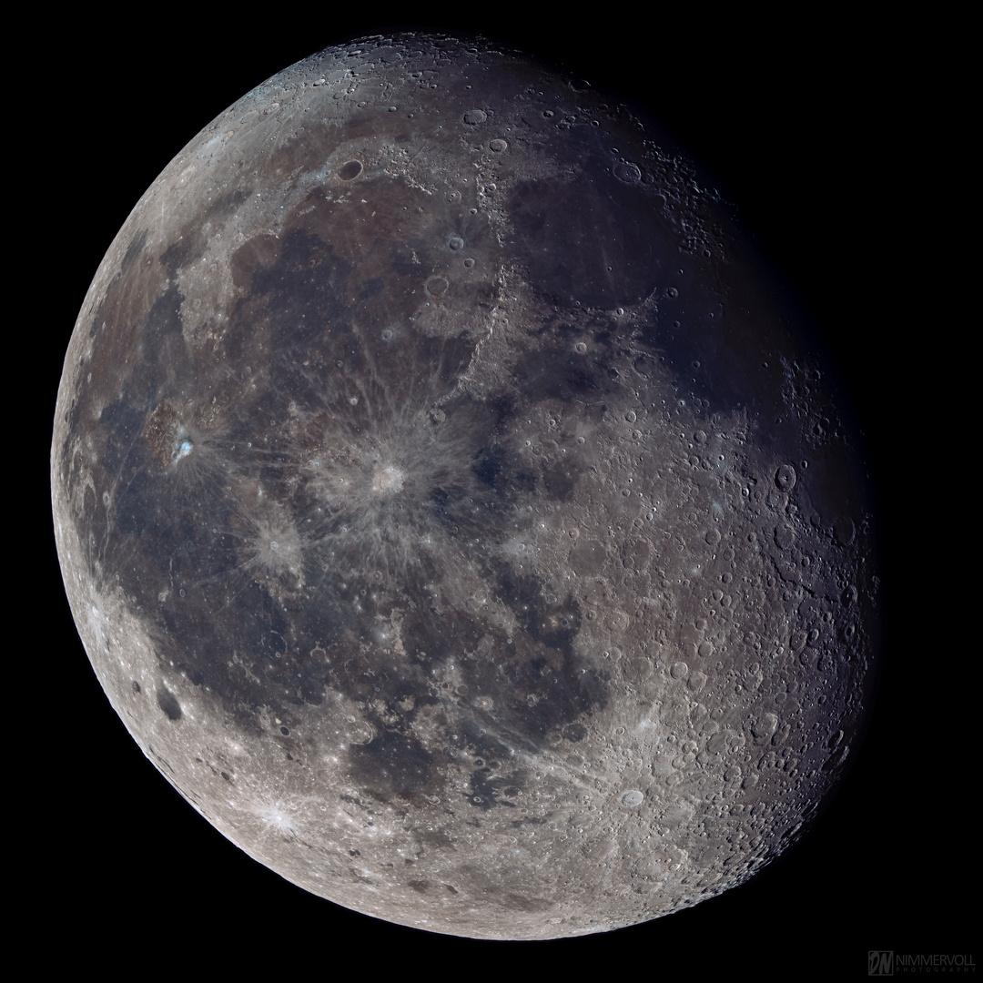 Mond vom 17.11.2019