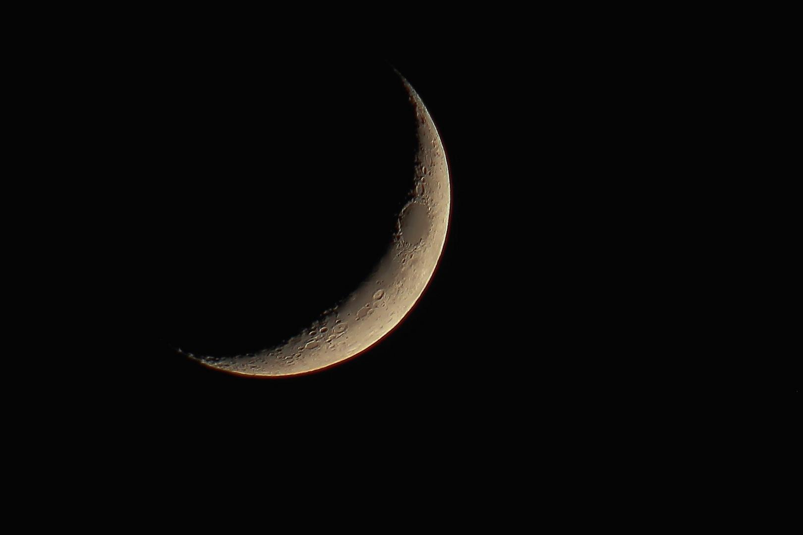 Mond von heute....