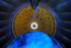 Mondaufgang im Gasometer