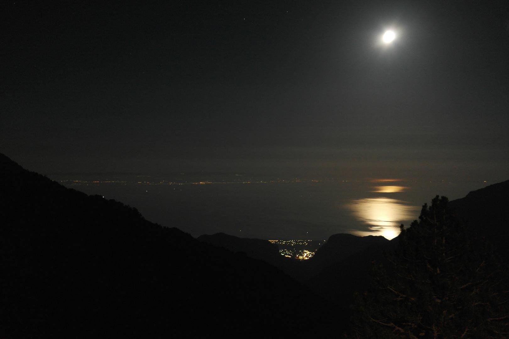 Mondaufgang in Greece