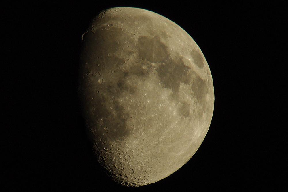 Mondaufnahme 08.11.2008