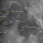 Mondausschnitt mit Erläuterungen