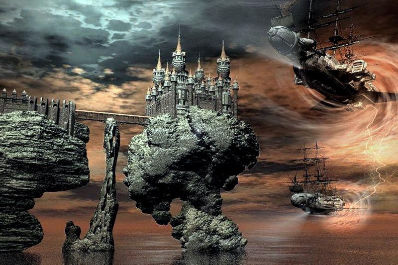 monde imaginaire:les pirates du temps.