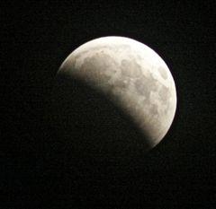 Mondfinsternis 16.08.2008 - Teil 1