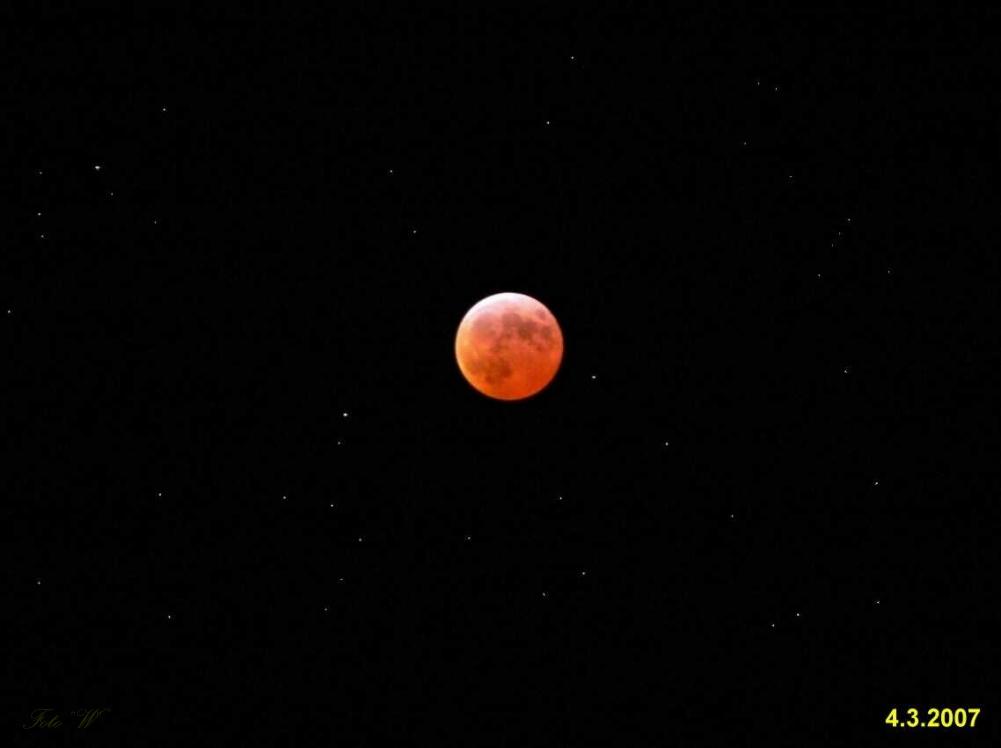 Mondfinsternis am 04.03.2007