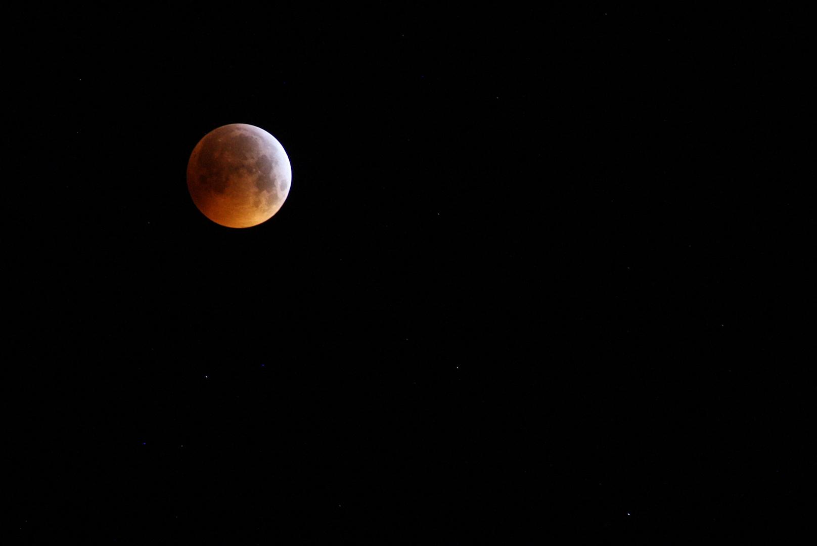 Mondfinsternis vom 21.01.2019