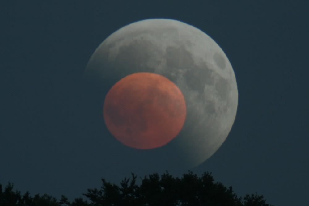 Mondfinsterniss 16.08.2008