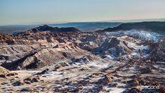 Mondlandschaft in der Atacama