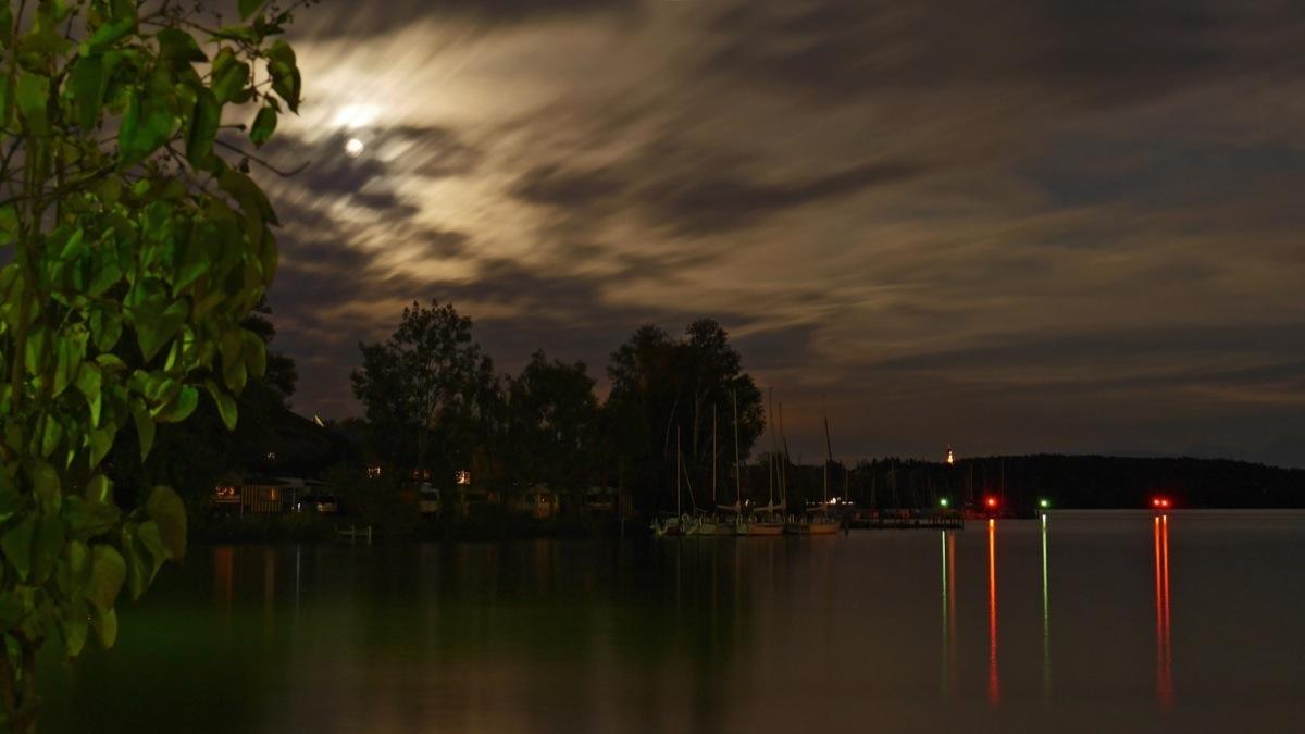 Mondnacht am Chiemsee