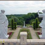 Mondo-Verde  - Blick vom Trevibrunnen in den Park