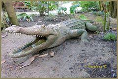 Mondo-Verde - Krokodil im Park - fast wie echt