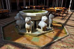 Mondo Verde - spanische Garten - Alcazar - Löwenbrunnen