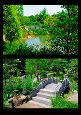 Mondo Verde - Teich und Brücke - chinesischer Garten