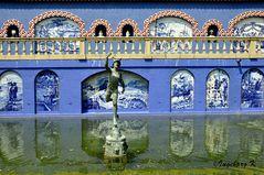 Mondo Verde - Vor dem Palacio dos Marquises da Fronteira -