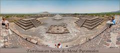Mondpyramide und Sonnenpyramide