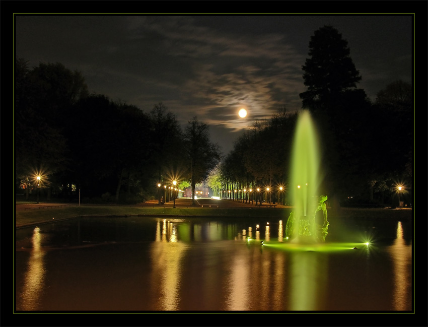 Mondschein im Hofgarten