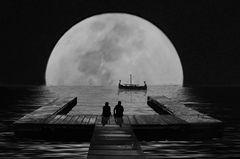 Mondspielerei sw